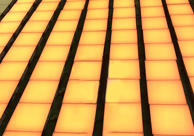 方形地砖灯
