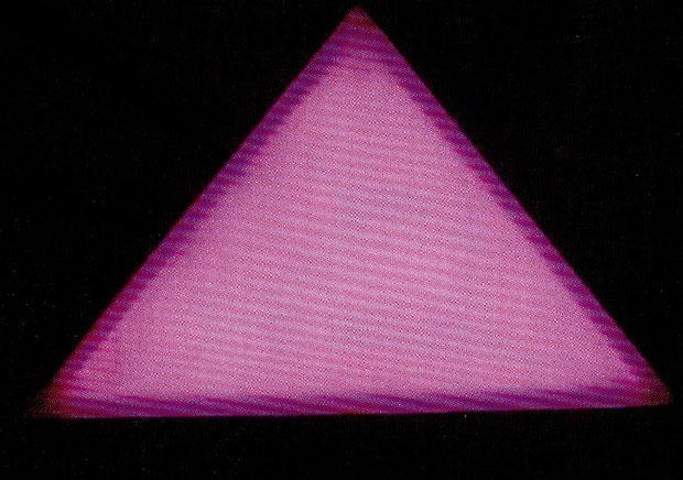三角形地砖灯