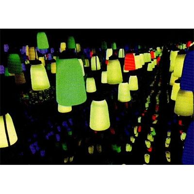 地砖灯厂家生产的简易安装感应地砖灯
