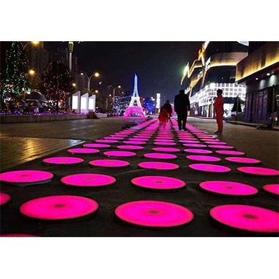 地砖灯厂家在不断规划方形感应地砖灯的照明环境